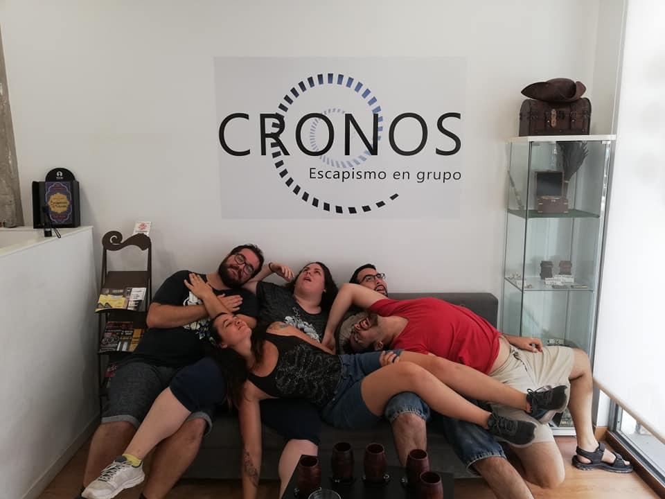 """""""La tumba perdida"""" de Cronos - Escapismo en grupo (Valencia)"""
