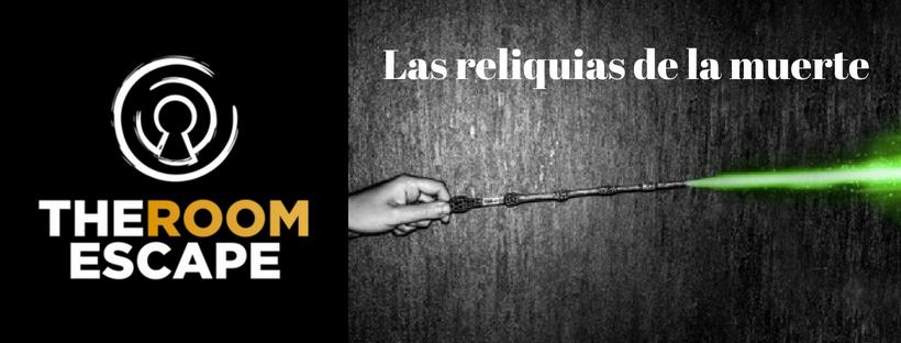 """""""Las reliquias de la muerte"""" de The Room Escape (Valencia)"""