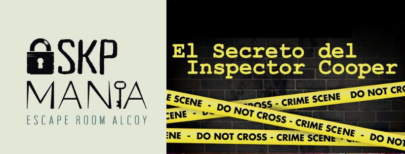 «El secreto del inspector Cooper» de SKP Manía (Alcoy)