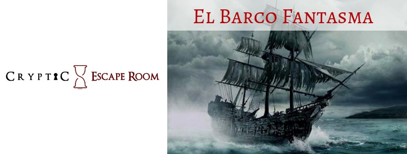 «El barco fantasma» de Cryptic Escape Room (Molina de Segura)