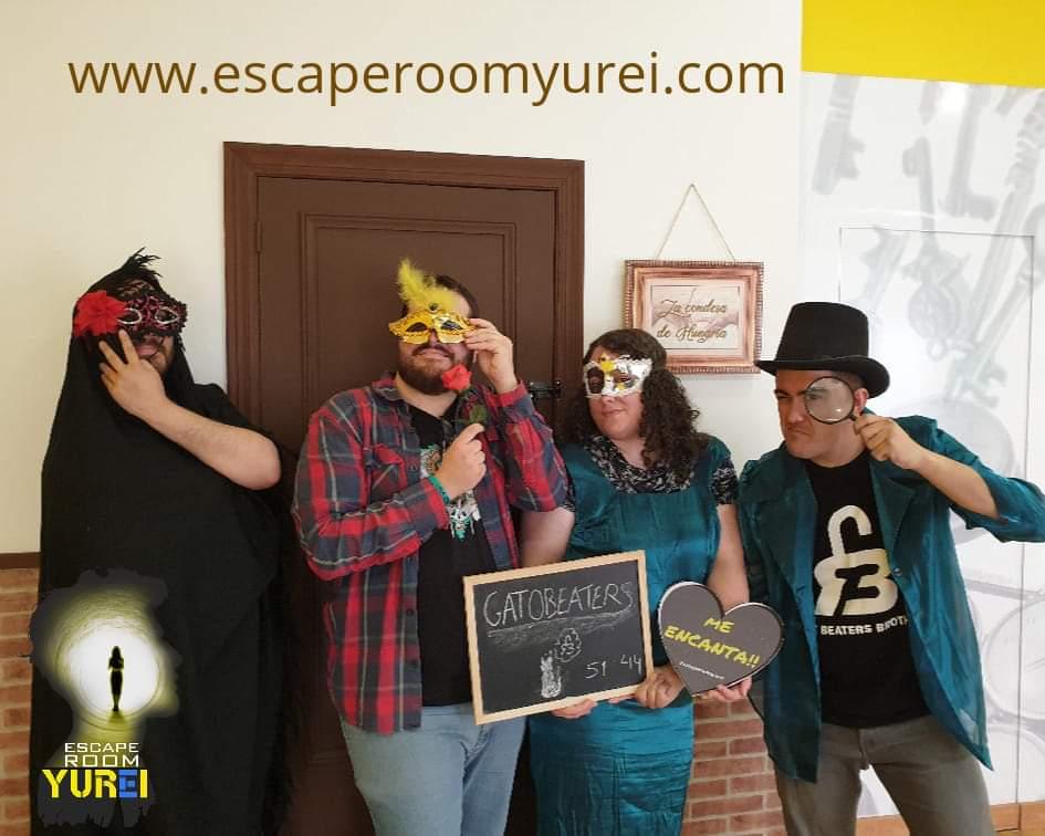 """""""La condesa de Hungría"""" de Escape Room Yurei (Murcia)"""