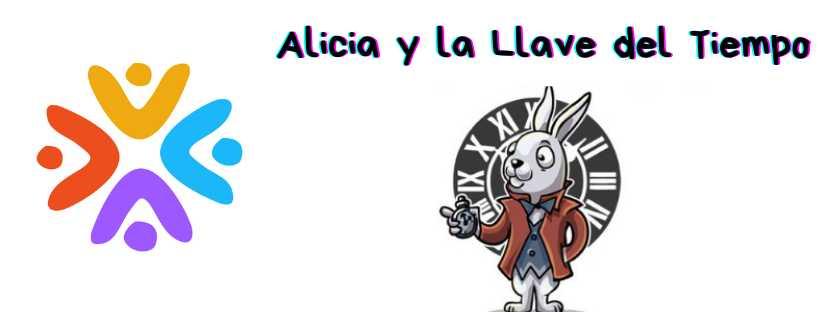 Portada de Alicia y la Llave del Tiempo.