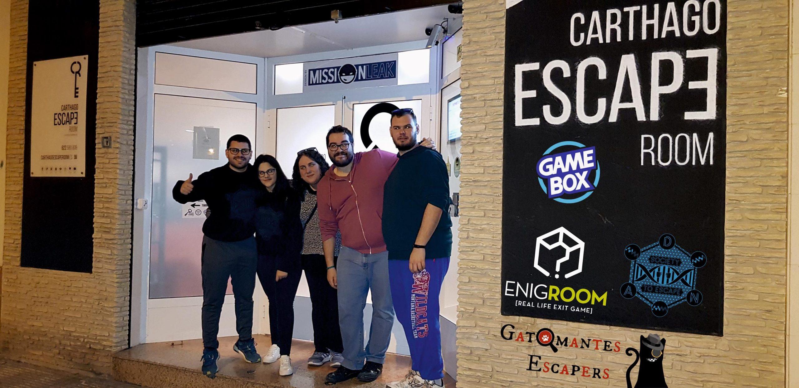 """""""Game Box"""" / Carthago Escape Room (Cartagena)"""