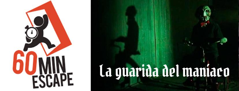 «La guarida del maníaco» de 60 Min Escape (Alicante)