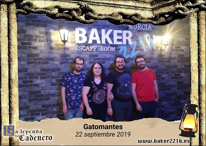 «La leyenda del Cadenero» de Baker 221B (Aljúcer, Murcia)