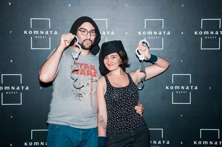 Foto final de la reseña de la escape room Mientras sigues con vida, de Komnata Quest en Madrid