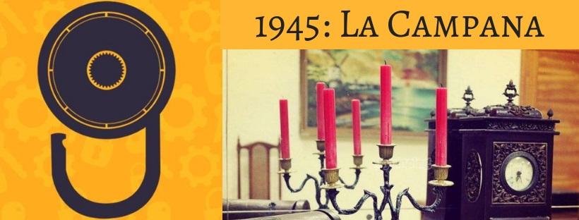 «1945: La campana» de Algenigma (Algemesí)