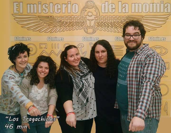 «El misterio de la momia» de 60 Min Escape Room (Alicante)