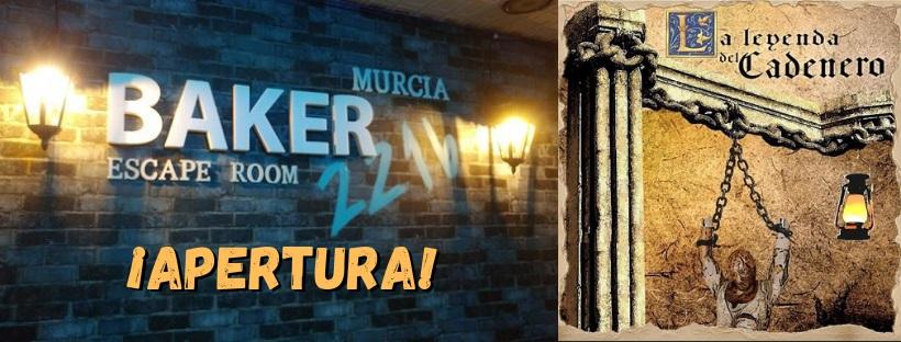 """Apertura de """"La leyenda del cadenero"""" de Baker 221b en Murcia"""
