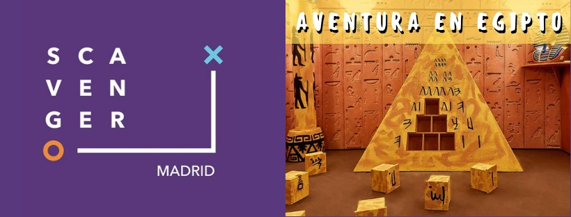 «Aventura en Egipto» de Scavenger Escape Room (Madrid)