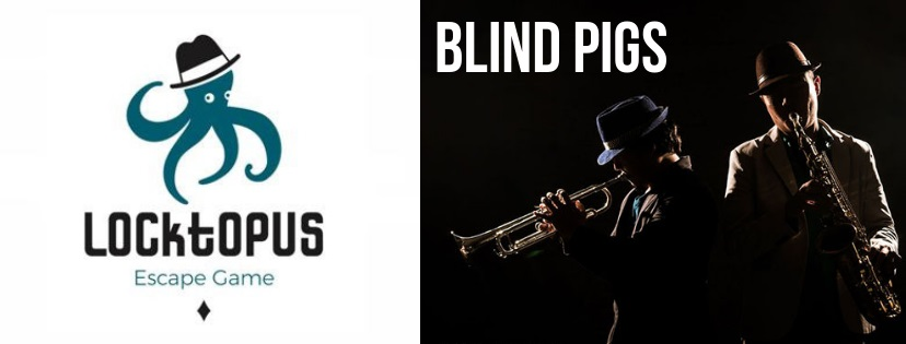 """Blind pigs"" de Locktopus (Madrid)"