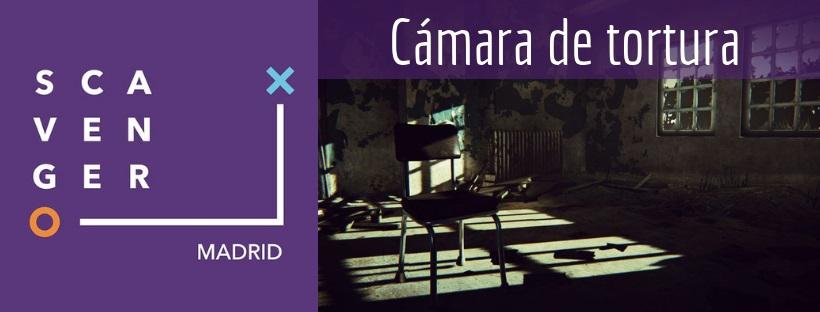 «Cámara de tortura» de Scavenger (Madrid)