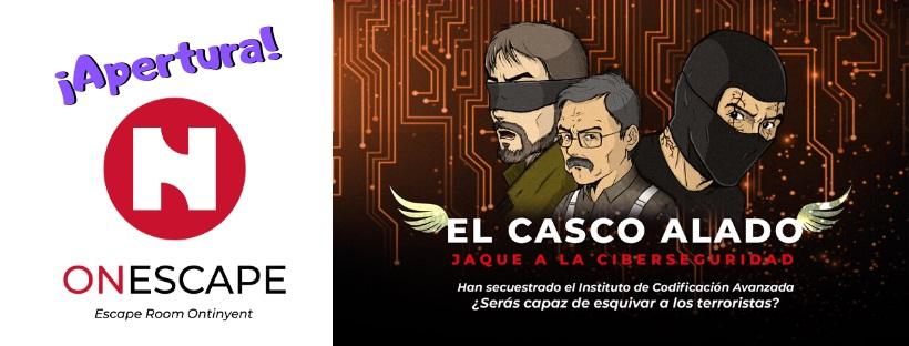 """Apertura de """"el casco alado"""" de On Escape en Onteniente"""