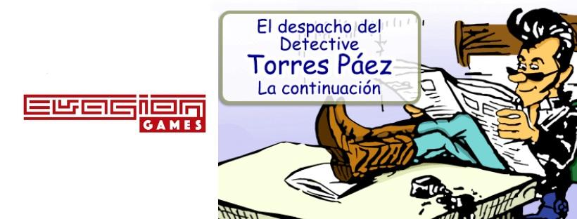 """""""El despacho del detective Torres Páez: La continuación"""" de Evasion Games (Elda)"""