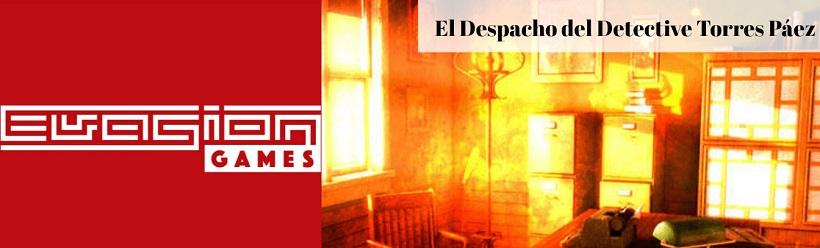"""""""El despacho del detective Torres Páez"""" de Evasion Games (Elda)"""