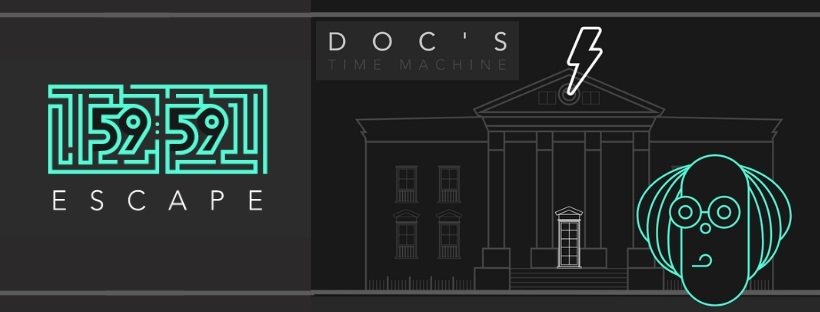 «Doc's Time Machine» de 5959 Escape (Madrid)