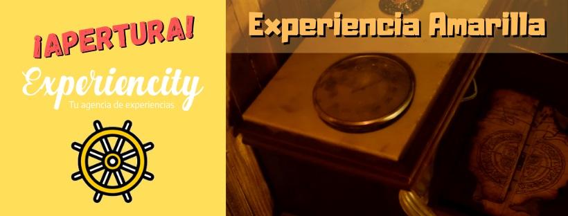 ¡Apertura! – «Experiencia Amarilla» / Experiencity (Madrid)