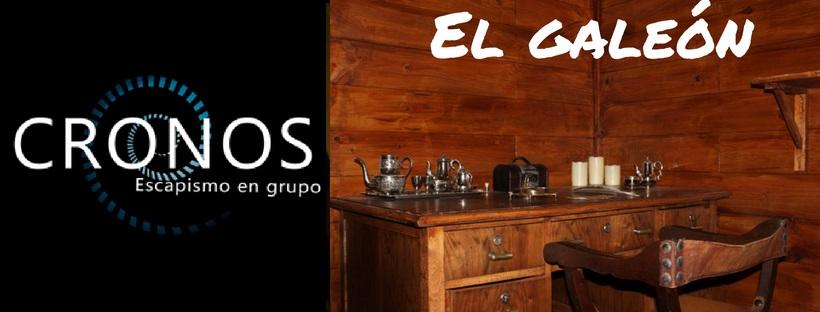 «El Galeón» de Cronos – Escapismo en grupo (Valencia)