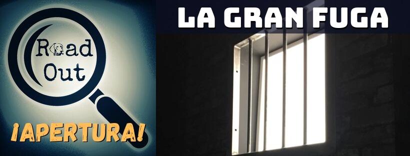 """Apertura de """"La gran fuga"""", de Road Out en Madrid"""