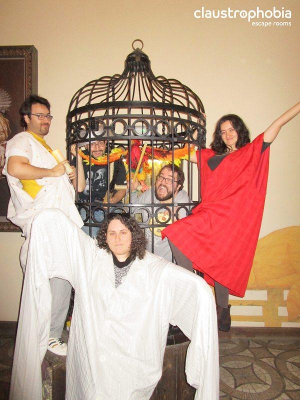 """""""Gulliver y los gigantes"""" de Claustrophobia"""