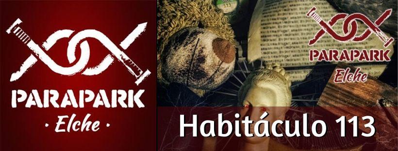 """""""Habitáculo 113"""" de ParaPark Elche (Elche) [SALA CERRADA]"""