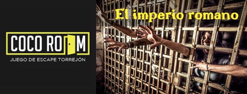 «El imperio romano» de Cocoroom (Torrejón de Ardoz)