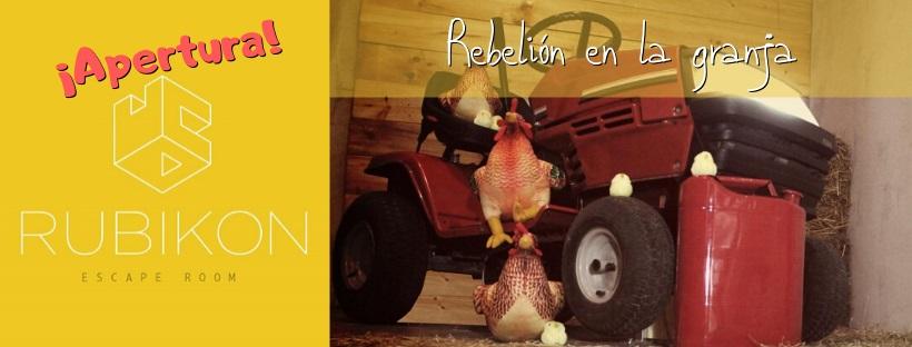 """Apertura de """"Rebelión en la granja"""", de Rubikon en Madrid"""