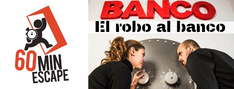 «El robo al banco» de 60 Minutos Escape (Alicante)