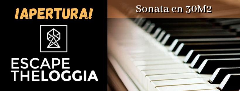 """Apertura de """"Sonata en 30 m2"""" de Escape the Loggia en Madrid"""