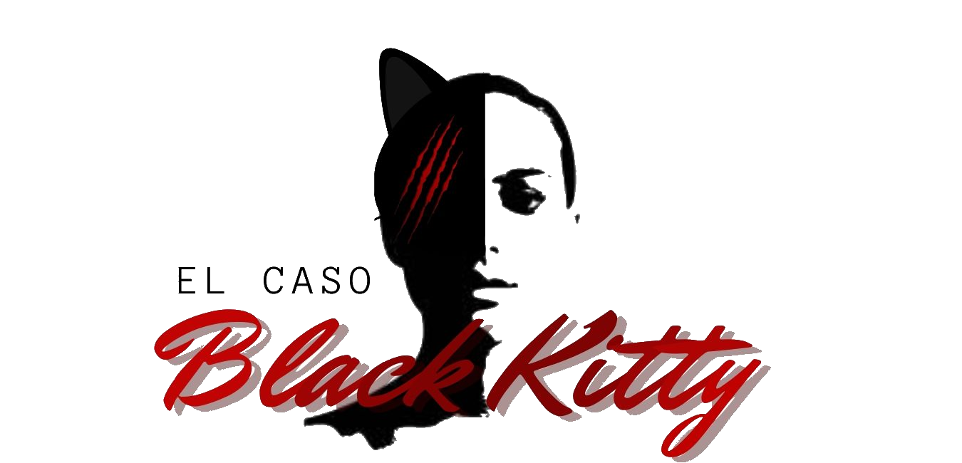 Cabecera Black Kitty Logo cluedo interpretativo