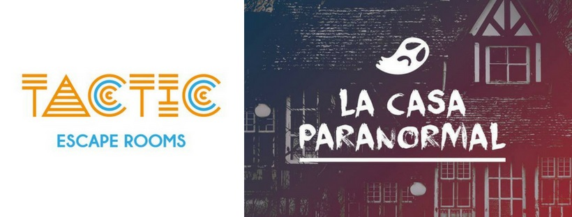 «La casa paranormal» de Tactic Escape Rooms (Valencia)
