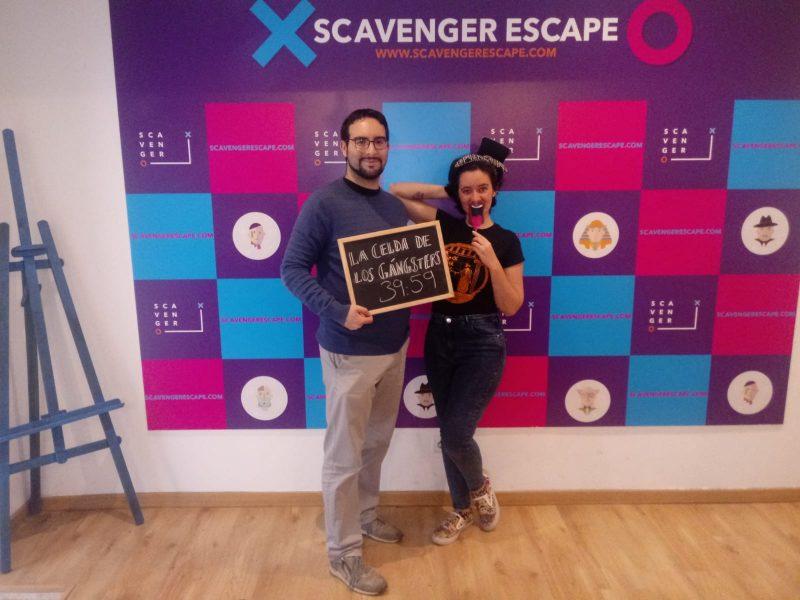 Foto de «La celda de los Gángsters» de Scavenger Escape Room (Madrid)