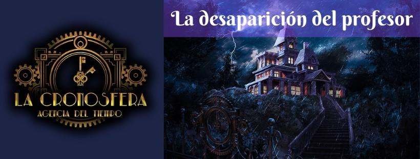 «La desaparición del profesor» de La Cronosfera (Madrid)