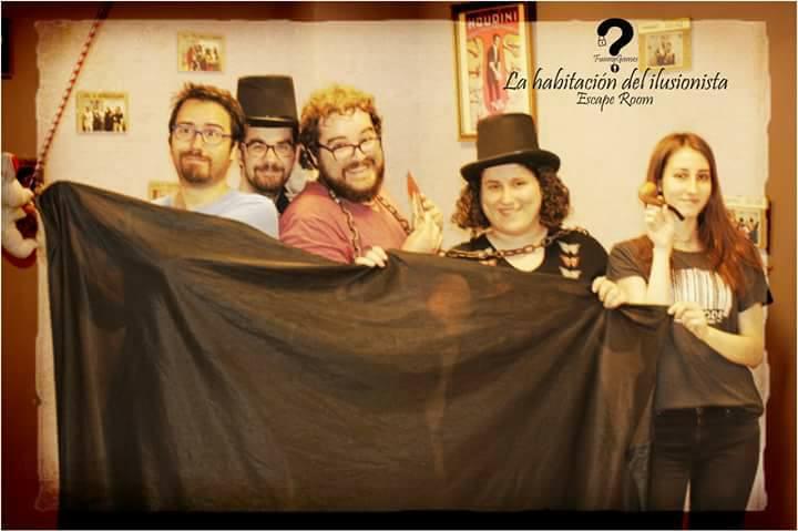 Foto de «La habitación del ilusionista» de Funny Games (San Vicente)