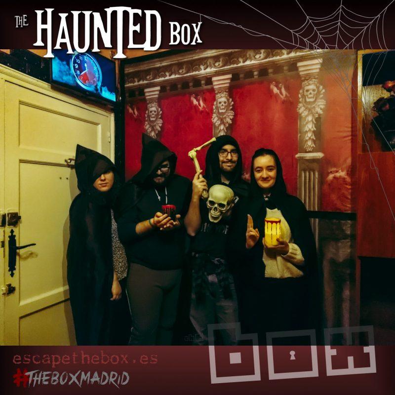 """""""The Haunted Box"""" de The Box"""