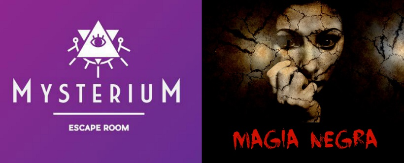 """Magia negra"" de Mysterium Escape Room (Murcia)"