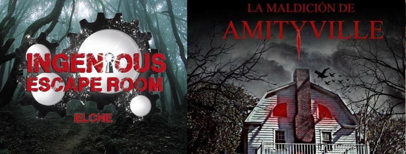 «La maldición de Amityville» de Ingenious Escape Room (Elche)