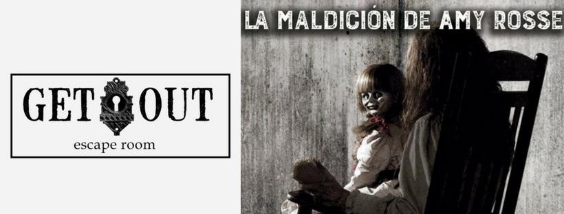 «La maldición de Amy Rosse» de Get Out (Valencia)