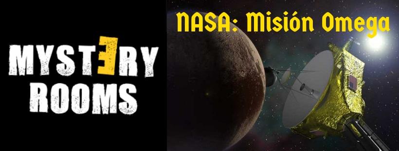 «NASA: Misión Omega» de Mystery Rooms (Valencia)