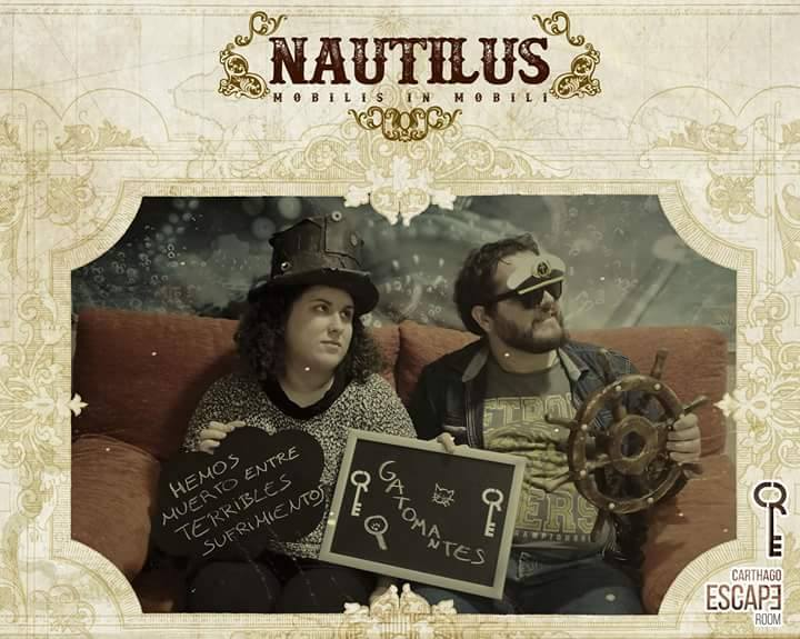 Foto de «Nautilus» de Carthago Escape Room (Cartagena)