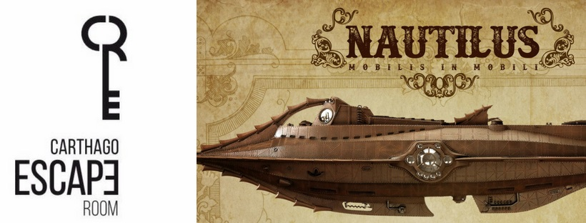 «Nautilus» de Carthago Escape Room (Cartagena)