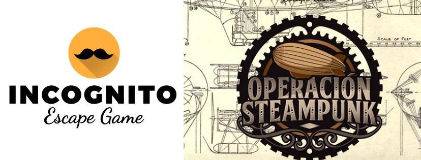 «Operación Steampunk» de Incógnito Escape Room (Madrid)