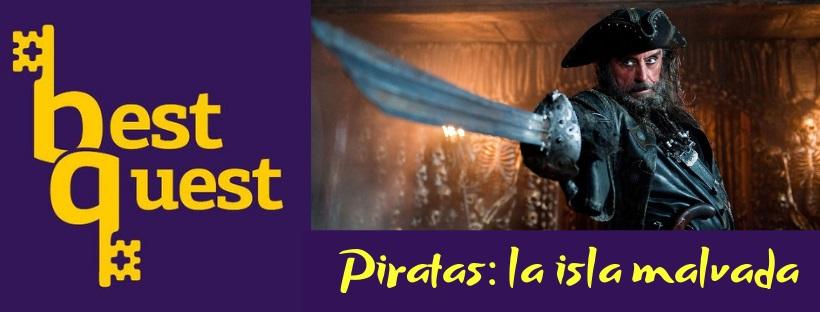 «Piratas: la isla malvada» de Best Quest (Valencia)