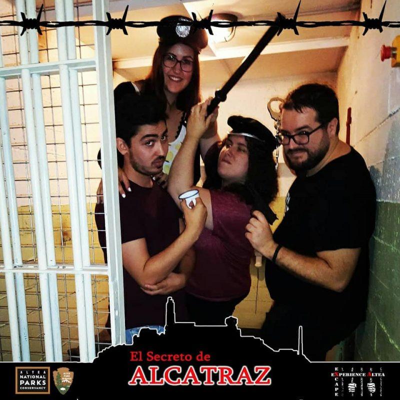 """""""La fuga de Alcatraz"""" de Excape Experience"""