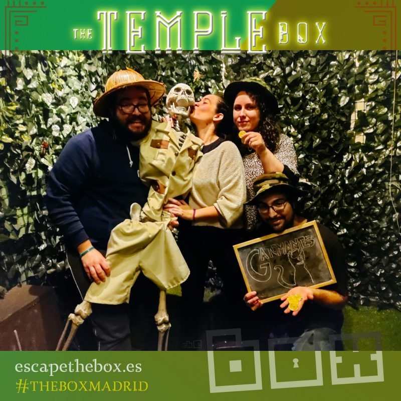 """The temple box"" de The Box"
