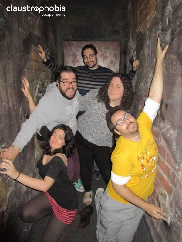 Foto de «La academia de Houdini» de Claustrophobia (Valencia)