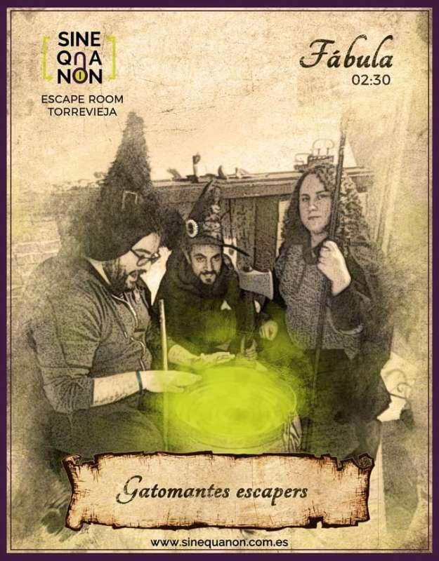 Foto de «Fábula» de Sine Qua Non (Torrevieja)