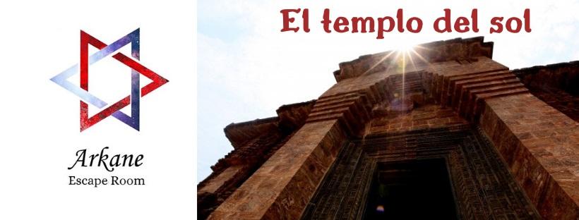 """Templo del Sol"" de Arkane Escape Room (Murcia)"