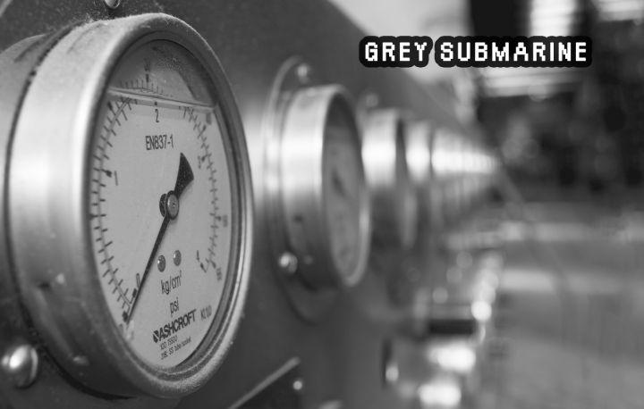 Imagen promocional de Grey Submarine, de Materia Gris en Alcorcón