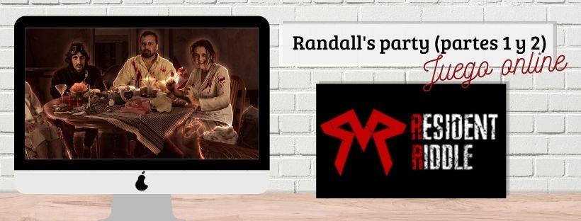 Portada de «Randall's party» de Resident Riddle (online)